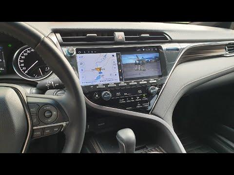 "Большой монитор 12"" Camry V70 Android"