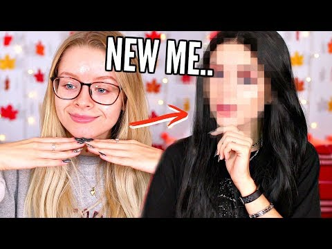INSTAGRAM BADDIE TRANSFORMATION.. GIVING MYSELF A MAKEOVER!! | sophdoesnails