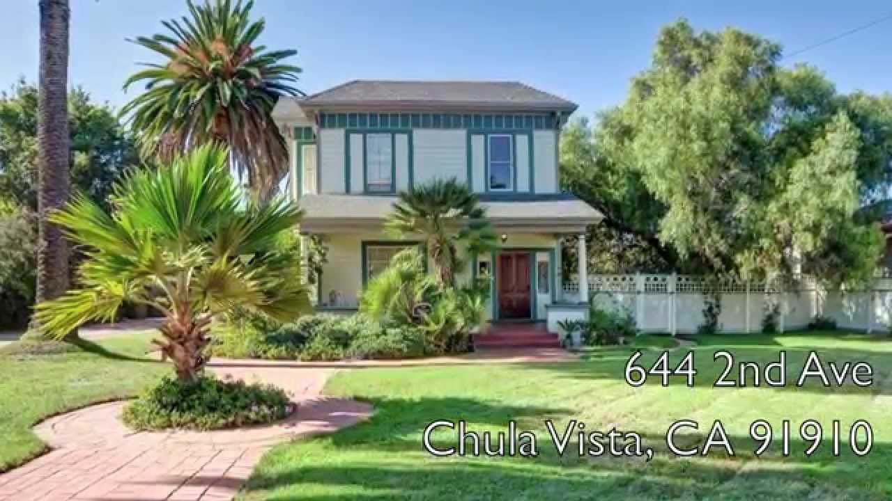 Restored Chula Vista Victorian Home for Sale - Built in 1888 ...