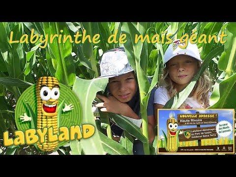 LABYLAND Le Labyrinthe Géant De Maïs