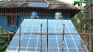 Saline water turn into drinking water by solar power in Bangladesh
