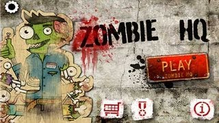 Zombie HQ Android App Review - CrazyMikesapps