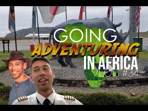 Flying across Africa in the Global Express! - The Global Life - VLOG #34