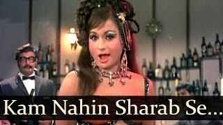 Kam nahin sharab se shokhiyan - helen - joy mukherjee - aag aur daag - cabaret song