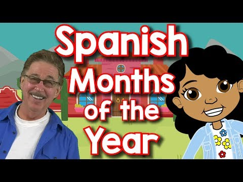Spanish Months Of The Year | Doce Meses Del Año | Jack Hartmann