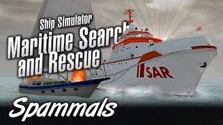 Ship Simulator Maritime Search & Rescue | Fire At Sea!