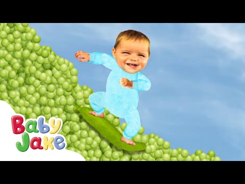 Baby Jake - Plants and Flowers! 🌳 | Full Episodes | Cartoons for Kids