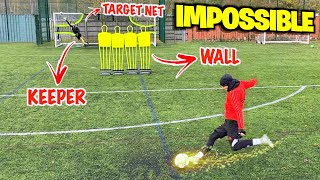 IMPOSSIBLE FREE KICK CHALLENGE! 🚀