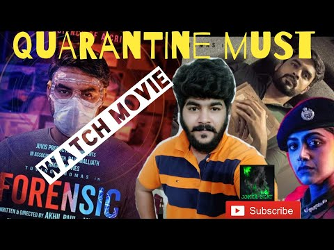 Forensic Movie Review Joker Beat 10 05 2020 Youtube