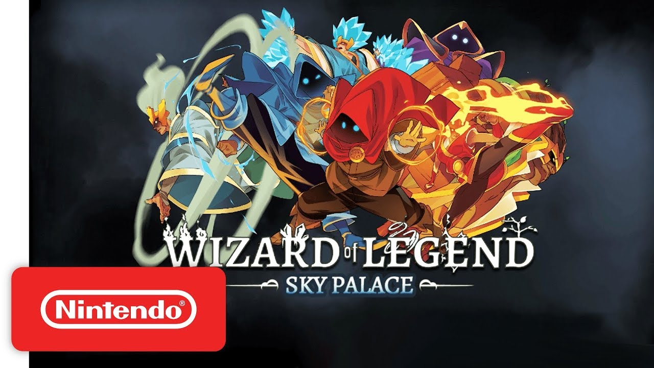 The Free Wizard Of Legend Sky Palace Update Is Now Available