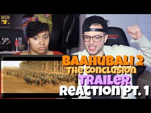 Baahubali 2 - The Conclusion Trailer | S.S. Rajamouli | Prabhas Reaction Pt.1