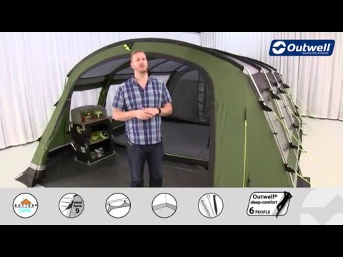 Outwell Drummond 7 Tent - 2016 | Innovative Family Camping