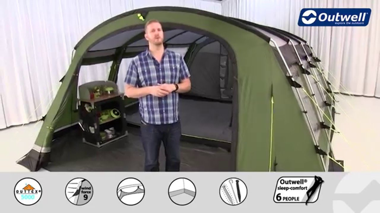 sc 1 st  YouTube & Outwell Drummond 7 Tent - 2016 | Innovative Family Camping - YouTube