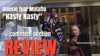 Jae H.A.R. Comment Section Review Episode 1 | Boosie feat. Mulatto - Nasty Nasty