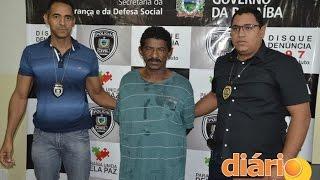 Polícia prende acusado de estuprar criança de sete anos na cidade de Cajazeiras