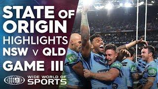 State of Origin Highlights: NSW v QLD - Game III | NRL on Nine