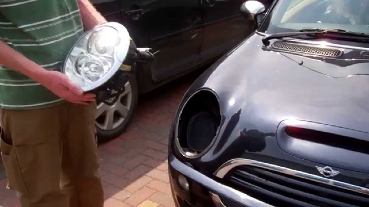How To Remove The Headlight Assembly From Bmw Mini Cooper