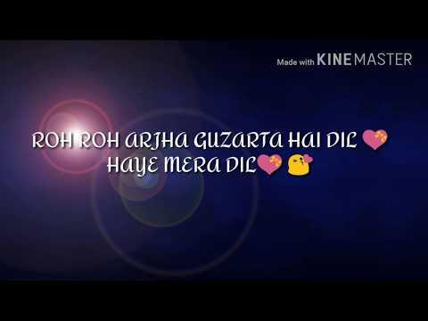 New haye mera dil💙 what'sapp (romantic💏 song) by purva mantri