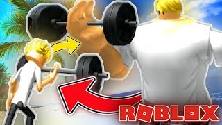 GETTING RIPPED in ROBLOX 👌 - Roblox Boxing Simulator
