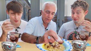 Iranian Dad Introduces us to Iranian Afternoon Tea!!??