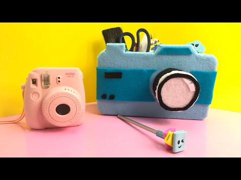 DIY Back To School Supplies Hacks 2019 I DIY School Organiser I DIY Felt Paper Craft I DIY Organiser