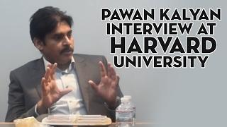 Pawan Kalyan interview at Harvard university | Pawan Kalyan | Shreyas Media