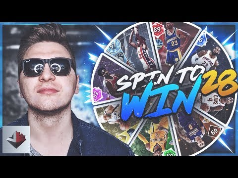 MY TEAM IS TOO PERFECT...NBA 2K18 SPIN TO WIN EP. 28