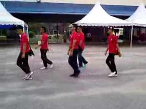 Tarian jamilah dari  KP Sabah