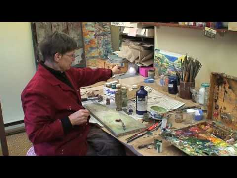 Peggy Smith - Mixing Colours (too much oil)
