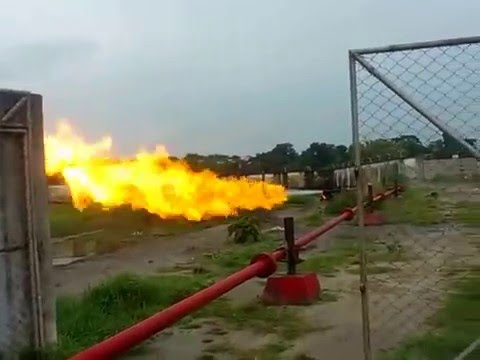 Gas Flaring Test (Must Watch)
