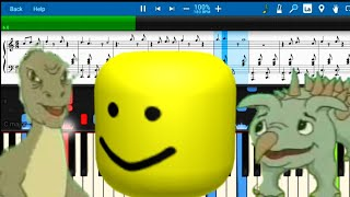 Yee The Song But It es Roblox Death Song!!