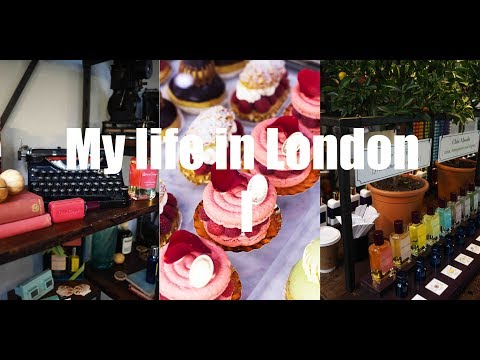 1. My Life in London - Atelier Cologne, Laduree Covent Garden, Facial Previse, Harrods