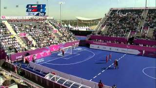 Football 5-a-side - IRI vs TUR - 2nd half - Men's 5-8 Semifinal 1 - London 2012 Paralympic Games.mp4