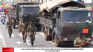 Le maintien d'ordre est-il confié maintenant aux Forces Armées Togolaises (FAT)?