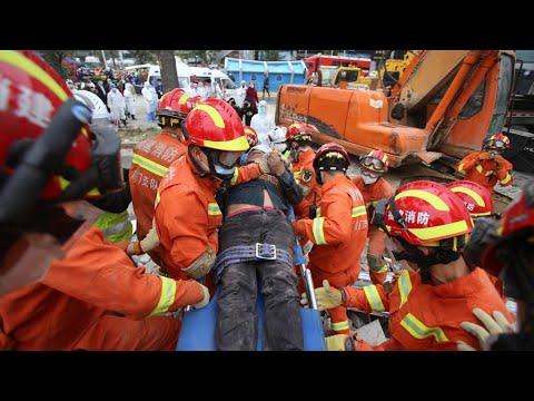 chine-:-un-hôtel-de-quarantaine-au-coronavirus-s'effondre,-au-moins-six-morts