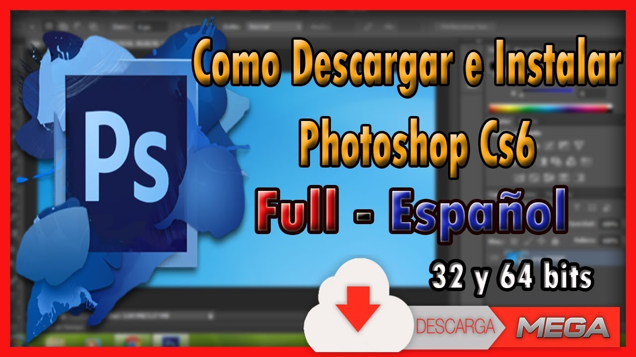 photoshop cs6 portable descargar mega