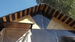 Обшивка веранды поликарбонатом