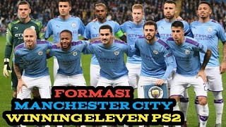 FORMASI WINNING ELEVEN PS2 MANCHESTER CITY