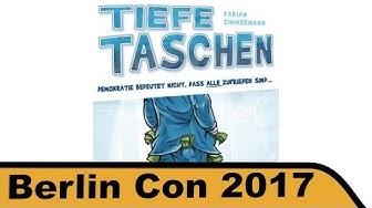 Tiefe Taschen - Brettspiel - Berlin Con 2017