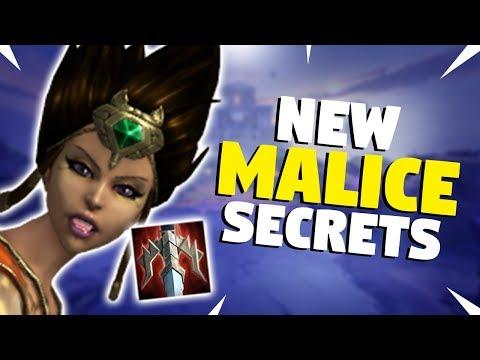SMITE New MALICE Secrets! Who benefits the most?