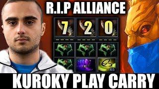 Long Time, No See! Kuroky CARRY Bounty Hunter Crazy FUN Show Match 7.20 Team Liquid Dota 2