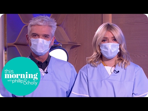 Holly and Phillip Scrub Up for Some Intensive Bear Surgery | This Morning