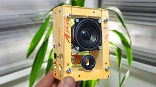 How to Make Speaker Amplifier DIY