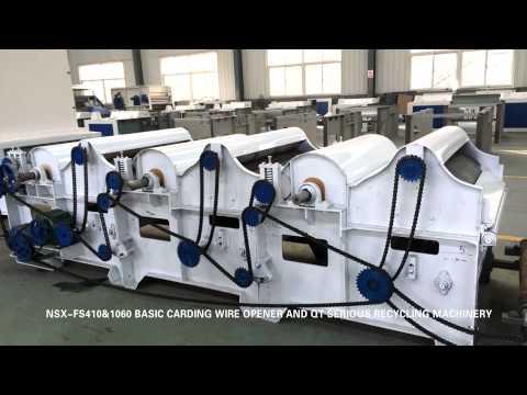 qingdao new shunxing textile recycling machinery
