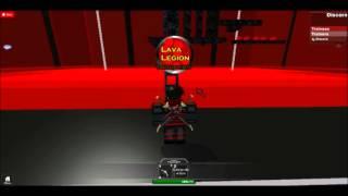 ROBLOX Lava Legion Training Center Trailer