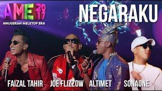 Anugerah MeleTOP ERA 2017: Faizal Tahir, Joe Flizzow, Altimet & SonaOne - Negaraku #AME2017