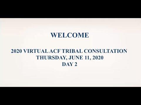 ACF Tribal Consultation June 11, 2020
