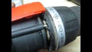 Ta'mirlash screwdriver Qora&Decker EPC12CA