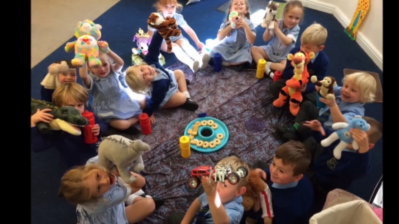 Reception's First Fortnight at Brabyns