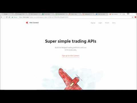 Automate Trade-KiteConnect-Python API Trading Platform-StockMarket-Part 1